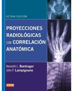 Proyecciones radiológicas con correlación anatómica