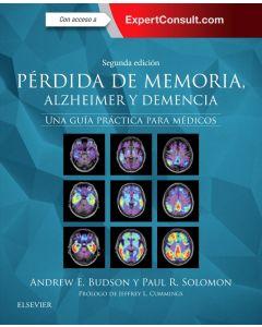 Pérdida de memoria  Alzheimer y demencia